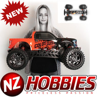COLOSSUS XT Mega Monster Truck RTR, w/ a HobbyWing ESC, Savox Steel Gear Servo, and 2.4Ghz Radio