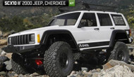 AXIAL AX90046 SCX10 II 2000 Jeep Cherokee 1/10 Scale Electric 4WD Crawler Kit
