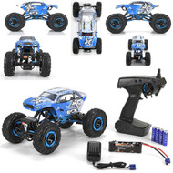 ECX Temper 1:18 4WD Rock Crawler Brushed: RTR # ECX01003