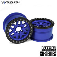 Vanquish Products VPS07733 KMC 1.9 XD229 MACHETE BLUE ANODIZED