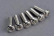 Traxxas 2560 Round Head Screw 3x10mm (6 Screws)