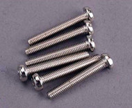 Traxxas 2561 Round Head Screws,3 X 20mm (6 Screws)