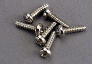 Traxxas 2675 Roundhead Screw 3x10mm (6)