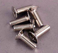 Traxxas 2548 Countersunk Screws 4x12mm (6)