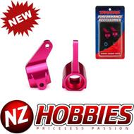 New Traxxas 3636P Aluminum Steering Blocks PINK Nitro Slash / Grave Digger /Mutt