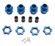 Traxxas 6856X Aluminum 17mm Wheel Hubs Set Stampede 4X4 / Telluride / Slash 4X4