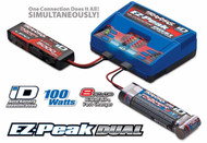 Traxxas-8amp-EZ-Peak-Plus-100W-Dual-Battery-Charger-2S-3S-LiPo-5-8-Cell-NiMH