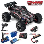 Traxxas 71076-3 E Revo VXL Brushless 1/16 4WD Truck Black RTR w/Radio/Battery/Charger