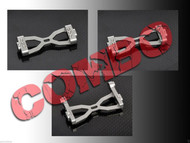 HeliOption HPAT600C01 Trex 600E Pro Frame Mounting Block Combo Set