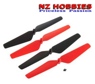 New Dromida DIDE1111 Propeller Set Ominus Quadcopter Red And Black (Props)