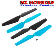 New Dromida DIDE1112 Propeller Set Ominus Quadcopter Blue And Black (Props)