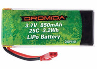 Dromida DIDP1105 LiPo 1S 3.7V 850mAh Battery for Vista UAV/FPV Quadcopter Drone