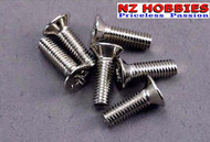 Traxxas 3177 Countersunk Screws 3x10mm Nitro Hawk / Slash 2WD (6)