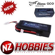 Gens Ace 8400mAh 11.1V 50C 3S2P Lipo Battery Pack with Traxxas plug