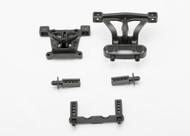 Traxxas 7015 - Body Mounts & Body Mount Posts, Front & Rear
