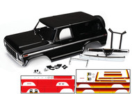 Traxxas 8010X Ford Bronco TRX-4 Pro-Scale Body Kit Scale Sunset Black