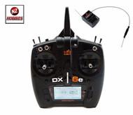 SPEKTRUM 2.4GHZ DX6e DSMX 6-Ch Transmitter w/ AR610 Receiver: HELI & AIR