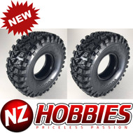 Voodoo Ottsix 1/10 RC Cars 2.2/5.5 Scale Crawler Tire Silver Compound Soft