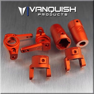 Vanquish Products VPS06522 AXIAL SCX10 STAGE ONE KIT ORANGE ANODIZED