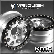 Vanquish VPS06942 KMC Enduro XD222 1.9 Wheels Clear Anodized (2)