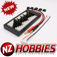 Brand New Parallel Charging Board for Lipos with Traxxas Type Connectors #NZ0100
