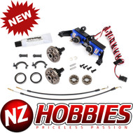 Traxxas 8195 Differential, Locking, Front & Rear (Assembled) (Includes T-Lock Cables & Servo)