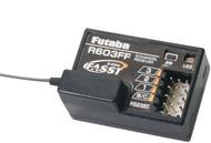 Futaba R603FF 2.4GHz FASST 3Ch Rx 3VCS 3GR 3PKS 4PKS # FUTL7631