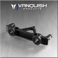 Vanquish Product VPS06861 AXIAL SCX / JK REAR BUMPER MOUNT BLACK ANODIZED