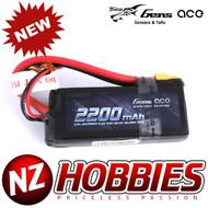 Gens ace 2200mAh 7.4V 50C 2S1P TRX Lipo Battery Pack with XT60 plug