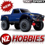 Traxxas TRX-4 SPORT 4X4 Trail Crawler Truck 1/10 Blue RTR w/ TQ Radio 82024-4