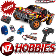 Traxxas 68054-1 SLASH 4X4 Orange 1/10 Off Road SC Truck RTR  w/ Battery/Charger
