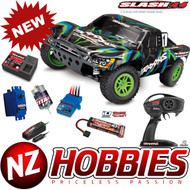Traxxas 68054-1 SLASH 4X4 GREEN 1/10 Off Road SC Truck RTR  w/ Battery/Charger