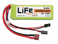 Hobbico HCAM6436 LiFeSource LiFe 6.6V 2100mAh 10C Reciever Battery Pack