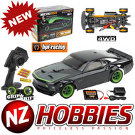 HPI 112468 MICRO RS4 '69 Ford Mustang RTR-X, 1/18 Scale w/ 2.4GHz Radio