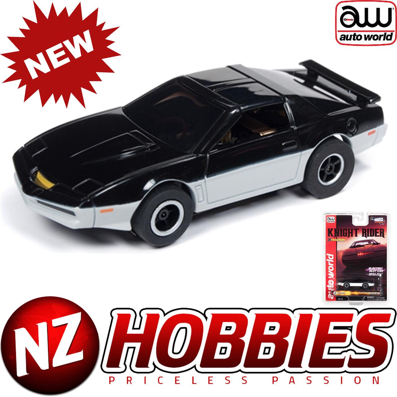 Auto World Xtraction R25 Knight Rider (K A R R) HO Scale Slot Car