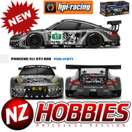 HPI 114350 RS4 Sport 3 Flux Porsche 911 GT3R 1/10 RTR 4WD w/Radio