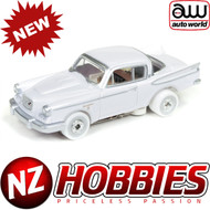 Auto World Thunderjet Ultra G R22 1957 Studebaker Hawk iWheels HO Scale Slot Car