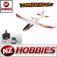 "Dromida DIDA1050 Sky Cruiser 2 EP Glider Ready to Fly 29.5"" Airplane Glider RTF"