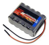 New Tenergy 12V 2000mAh NiMH Battery Pack w/ Bare Leads # 11606