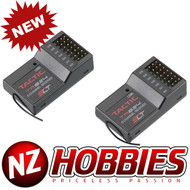 New TACTIC TR624 6-Channel 2.4GHz SLT Receiver (2 pcs)