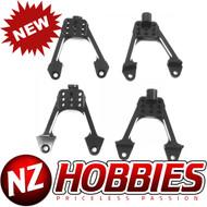 Hot Racing HRASCX28301 Aluminum Front & Rear Adjustable Shck Towers:Scx10