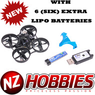 Blade BLH8570 Inductrix FPV Pro Micro Racing Drone/Quad BNF w/ EXTRA 6 LIPO BATTERIES