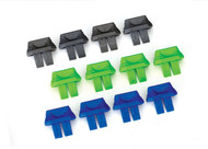 Traxxas 2943 Battery charge indicators (Grey (4) Blue (4) Green (4))