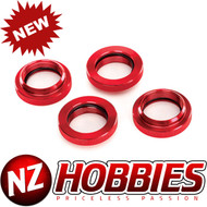 Traxxas Spring Retainer Red-Anodzied Aluminum GTX Shock # TRA7767R