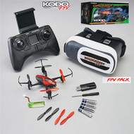 Dromida DIDE0016 KODO FPV RTF w/ Goggles, Battery, Charger, Extra Props