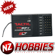 New Tactic TR624 6-Channel 2.4GHz AIR HELI Receiver TACL0624
