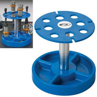 Duratrax DTXC2385 Pit Tech Deluxe Shock Stand Blue 1/8 & 1/10 Scale