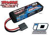 Traxxas 2843X 2S 7.4V 5800mAh 25C LiPo Battery w/iD Connector : Telluride 4X4