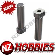 ARRMA AR340137 Steering Post (2) 4x4 Granite/Typhon/Senton/Bigrock