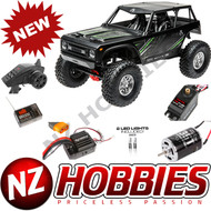 Axial AX90074T2 Wraith 1.9 1/10th Scale Electric 4wd RTR Black w/Radio